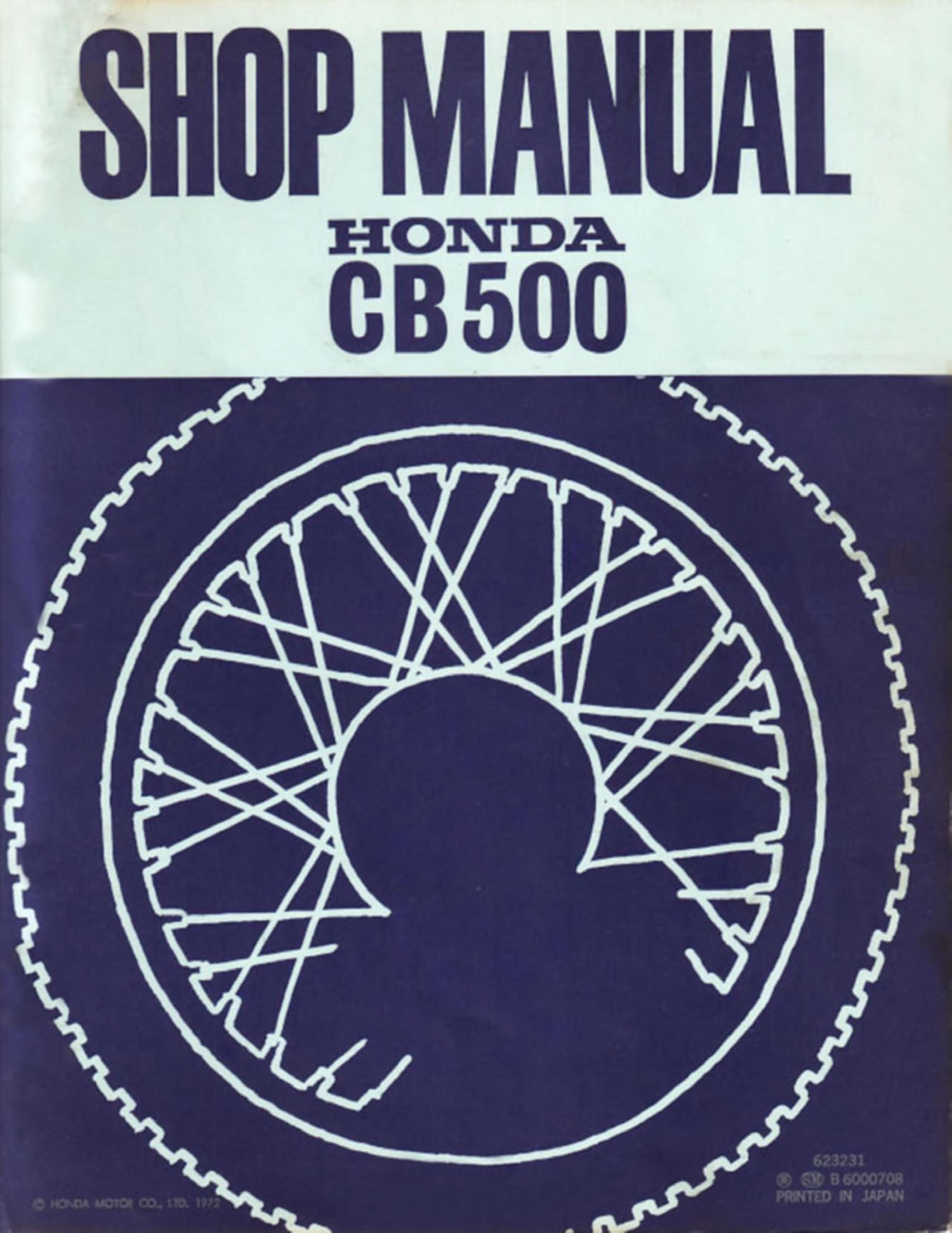 cb500f service manual pdf