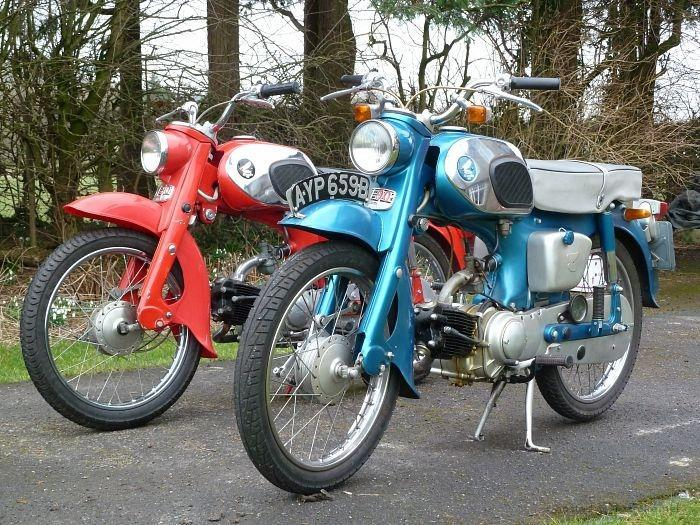 Distinctive features of the Honda C200 and CT200Honda 4-stroke.net