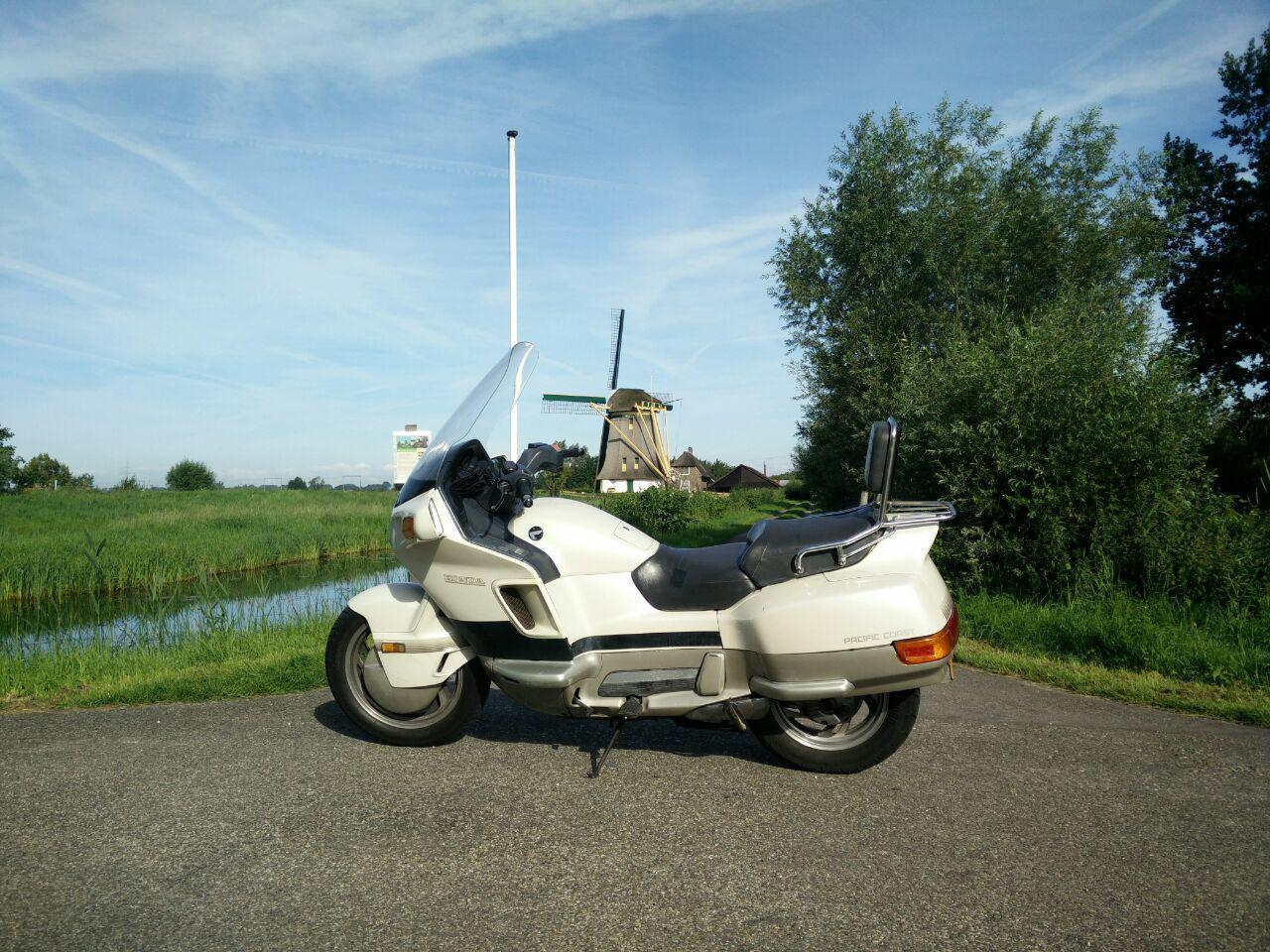 Honda PC800 1987 White Netherlands