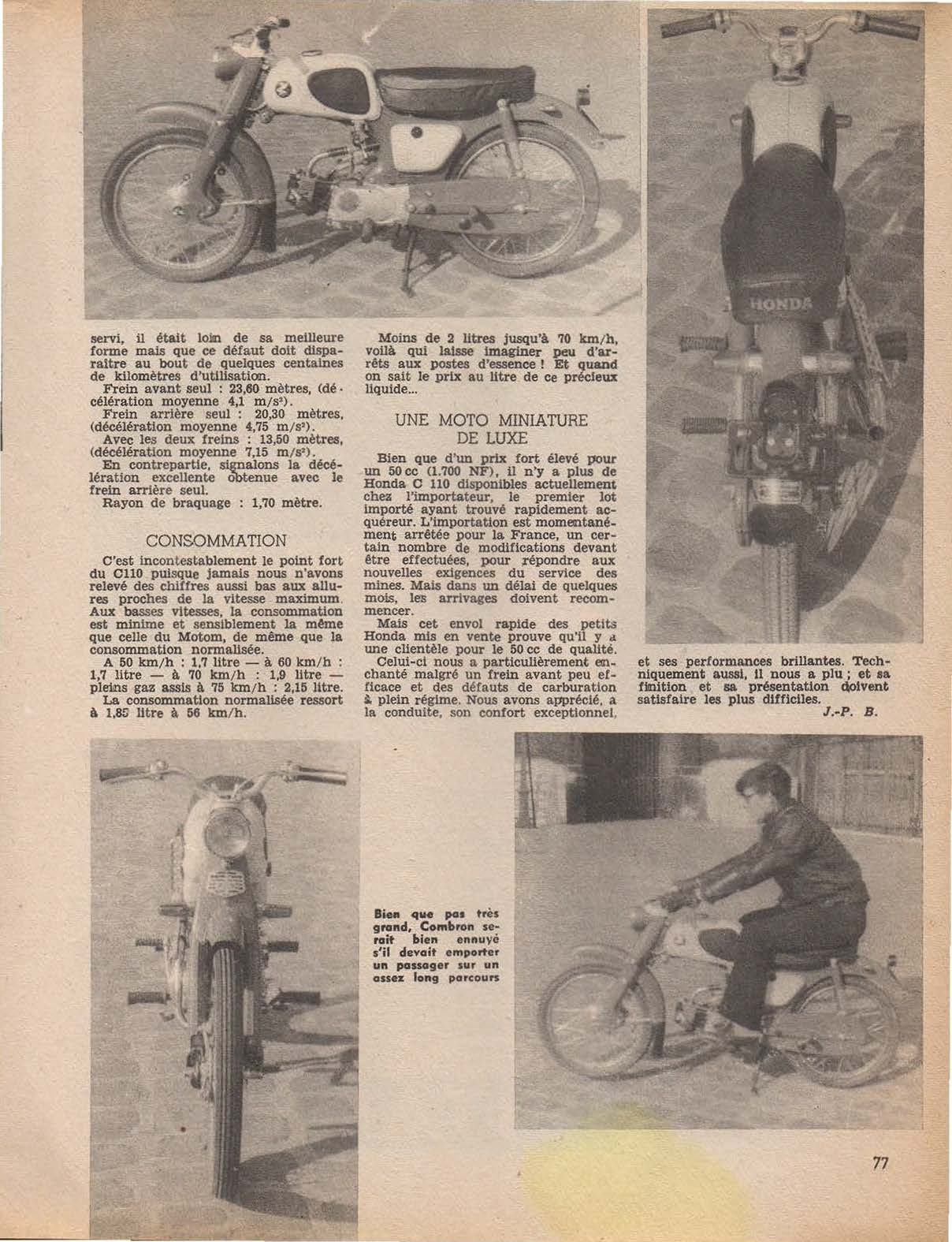 Pages from scooter et cyclomoto mars 1962 no 117