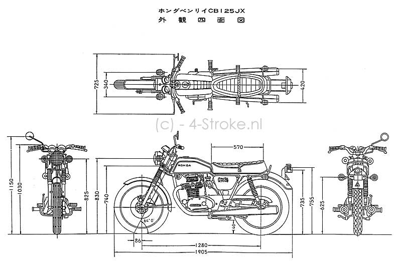 1972 honda cb125 wiring diagram 1972 honda cl70 wiring diagram wiring diagram