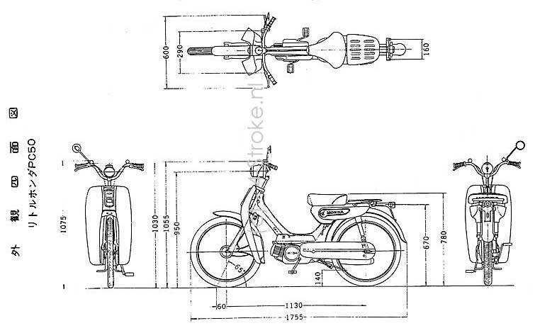 honda pc wiring diagram wiring diagrams honda pc50 dimensions