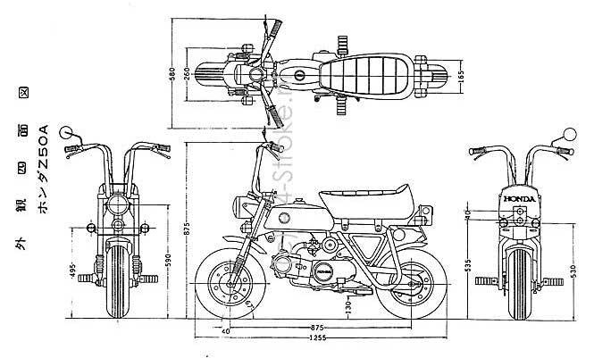 honda zb50 wiring diagram  honda  auto wiring diagram