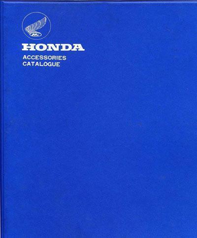 Honda Accessory book (1964)