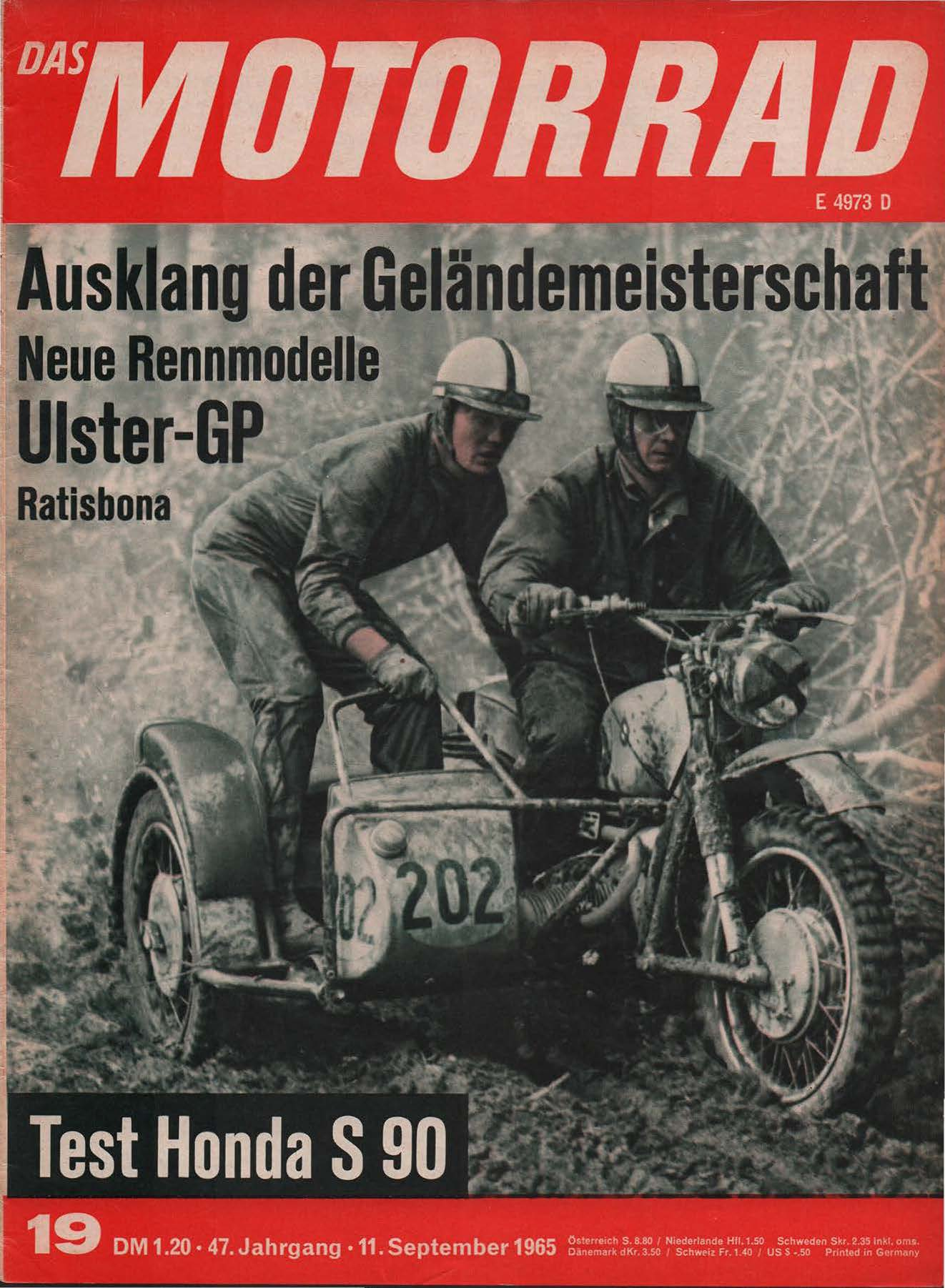 Das Motorrad, 11 September 1965, E4973D