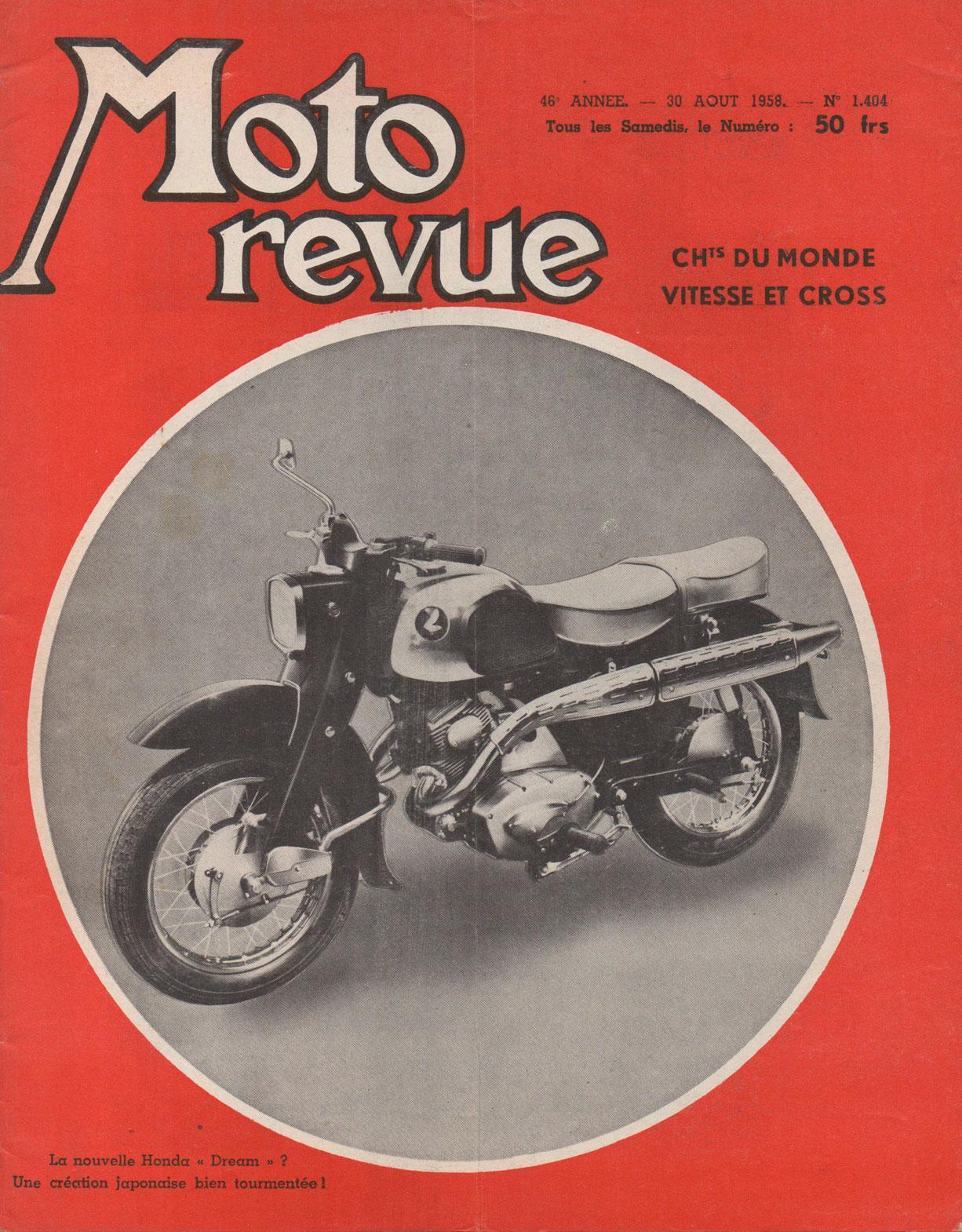 Moto Revue - 20 Aout 1958 - No. 1404