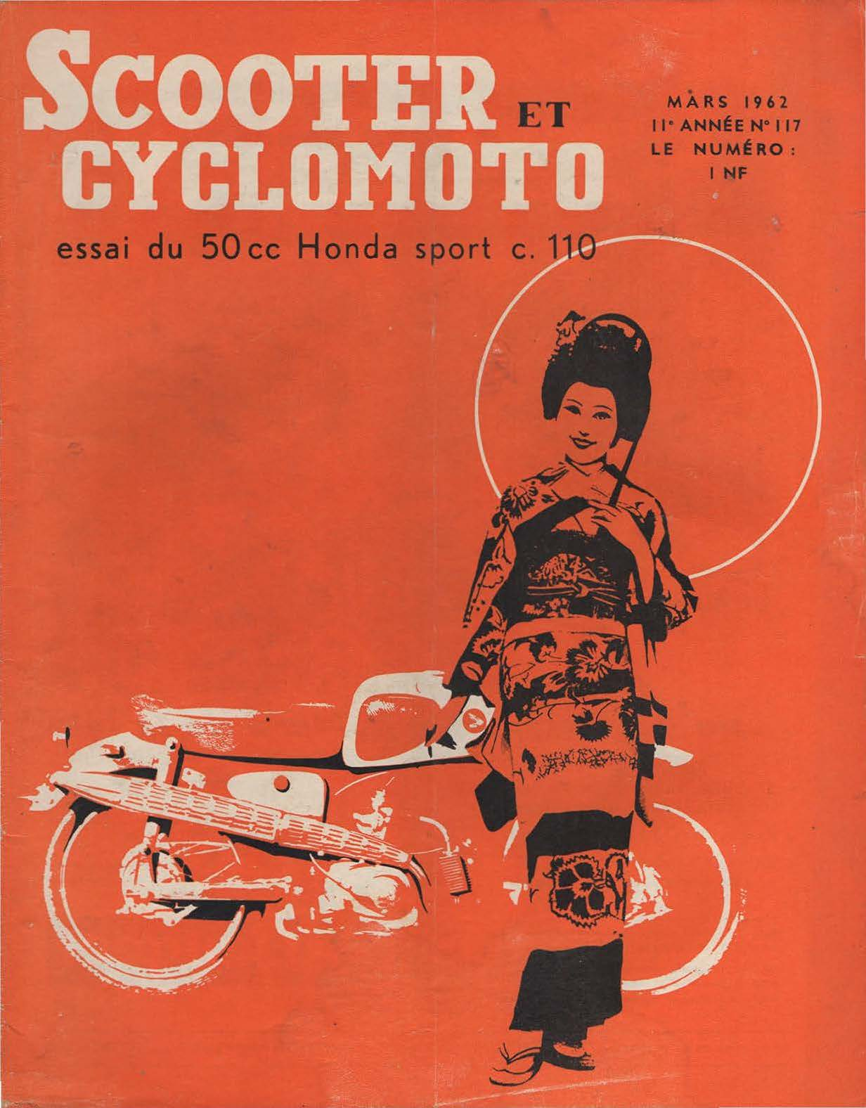 Scooter et Cyclomoto - Mars 1962 - No. 117