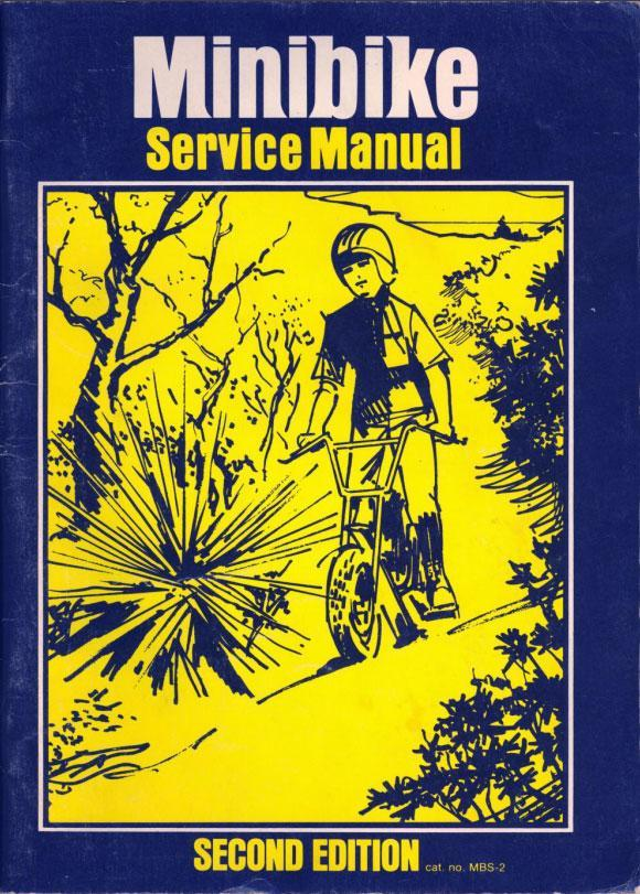 Minibike Service Manual 2nd Edition (1972)