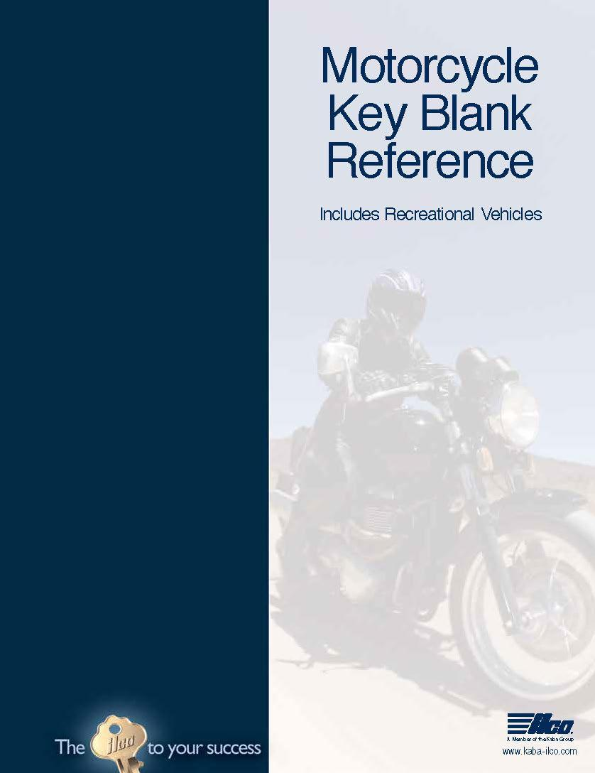 Motorcycle Key Blank Reference (2013)