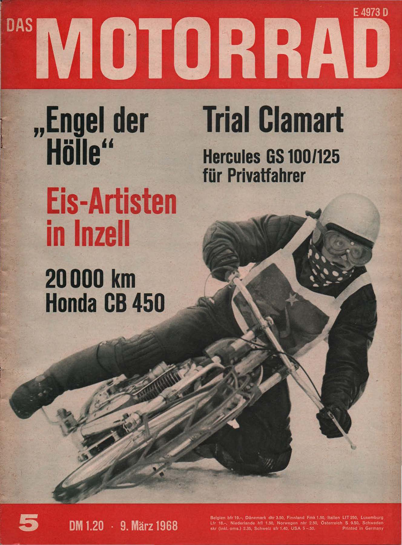 Das Motorrad, 9 March 1968, E4973D