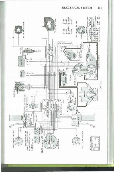cb200 wiring diagram honda cb200 wiring schematic 4 stroke net all the data for honda cb200 wiring schematic