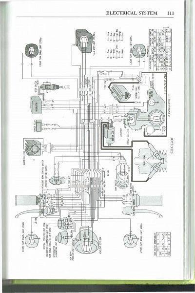 honda cl200 wiring schematic