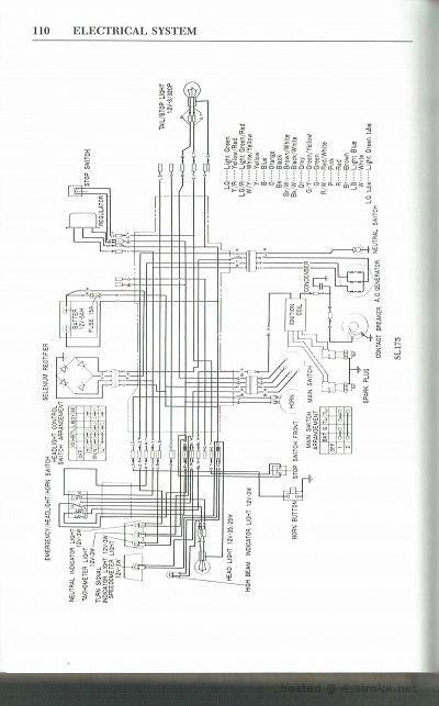 wiring diagrams 4 stroke net all the data for your honda rh 4 stroke net honda cl175 wiring diagram