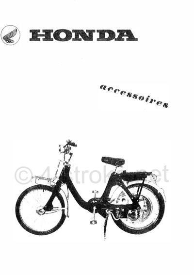 Honda P50 Accessory list