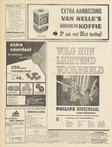 Groot Walcheren   1963   26 september 1963   pagina 3 advertentie honda