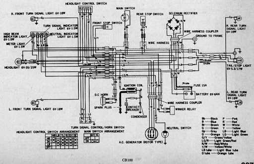 [CSDW_4250]   Honda CB100 Wiring Schematic - Honda 4-stroke.net - All the data for your  Honda Motorcycle and Moped! | Honda Cb100 Wiring Diagram |  | 4-Stroke.net