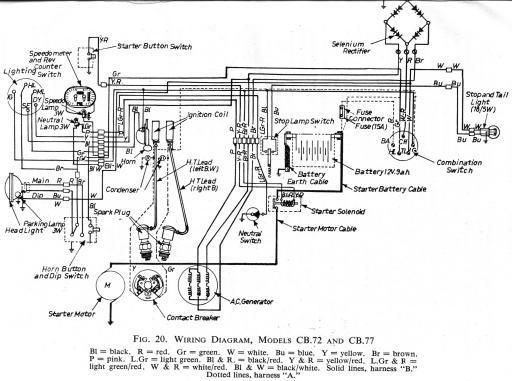 cb750k1 wiring diagram