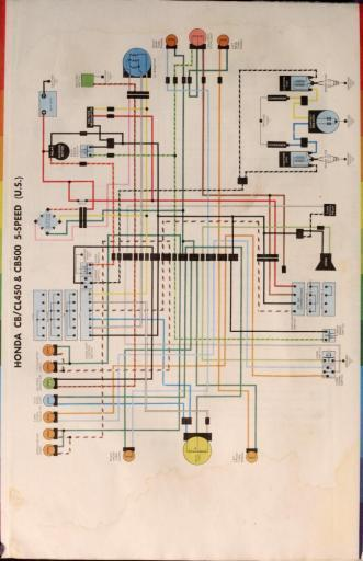 Incredible Honda Cb450 Wiring Schematic 5 Speed Us 4 Stroke Net All The Wiring Database Gramgelartorg