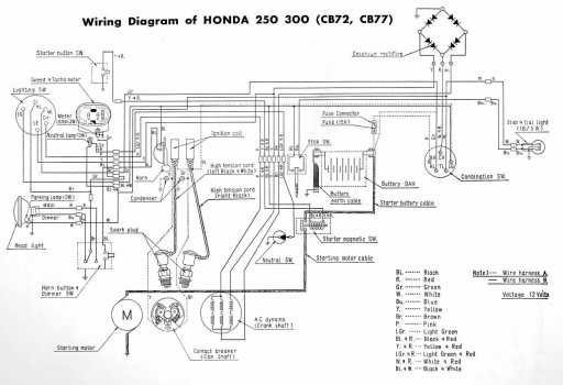 Wiring Diagrams - Honda 4-stroke Net