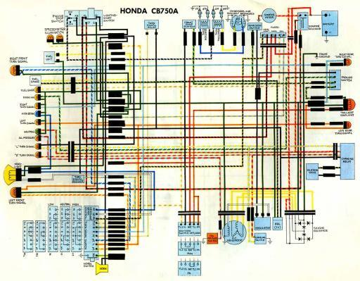 wiring schematic honda 4 stroke net all the data for cb360 wiring diagram cb750f wiring diagram #11