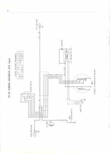 crf 250r wiring diagram honda pc50 uk (1968) wiring schematic - 4-stroke.net - all ... lt 250r wiring diagram
