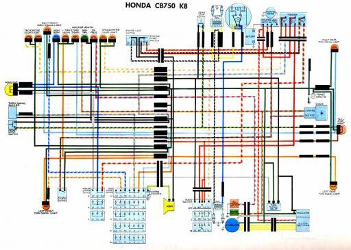 Wiring Schematic - Honda 4-stroke.net - All the data for your Honda  Motorcycle and Moped! | 1981 Cb 750 C Honda Wiring Diagram |  | Honda 4-stroke.net