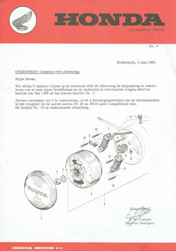 Servicebulletin 08 (1968)