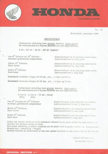 Servicebulletin 13 (1969)