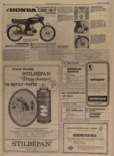 Leeuwarder courant   hoofdblad van Friesland   03061966   ddd 010617459 mpeg21 p012 image