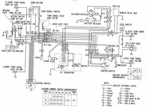 Wiring Schematic For Honda Ct90