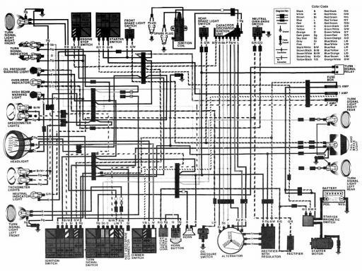 honda cm450c wiring schematic