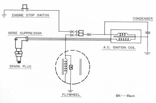 Wiring schematic for Honda QA50