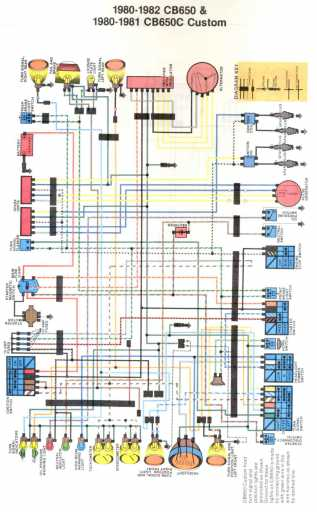 Honda CB650 Wiring Schematic - Honda 4-stroke.net - All the data for your  Honda Motorcycle and Moped!4-Stroke.net