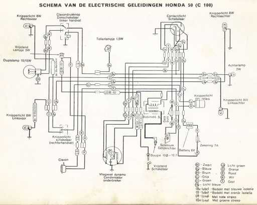 Adding Honda wiring diagrams / schematics this week4-Stroke.net