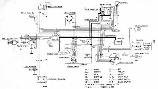 1983 Honda C70 Wiring Diagrams - Wiring Diagrams Schema