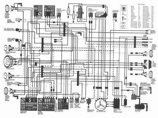 honda cb400t (1982) wiring schematic 4 stroke net all Cb400t Wiring Diagram cb400t wiring diagram wiring schematics