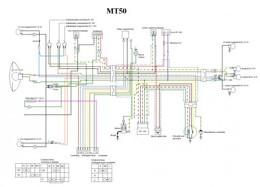 Wiring schematic for Honda MT50 - Honda 4-stroke.net - All the data for  your Honda Motorcycle and Moped!Honda 4-stroke.net
