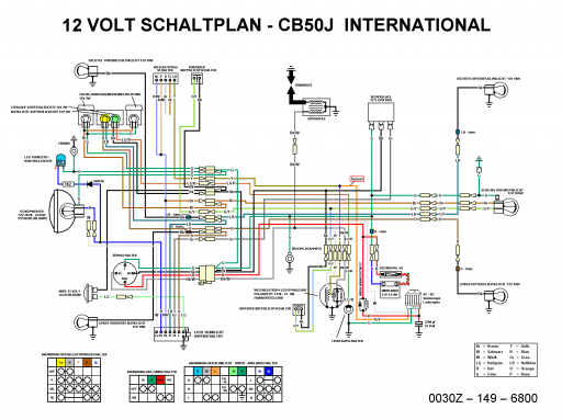 Honda Cb50j 12v Wiring Schematic 4stroke All The Data For Rh4stroke: Honda Z50 12v Wiring Diagram At Gmaili.net