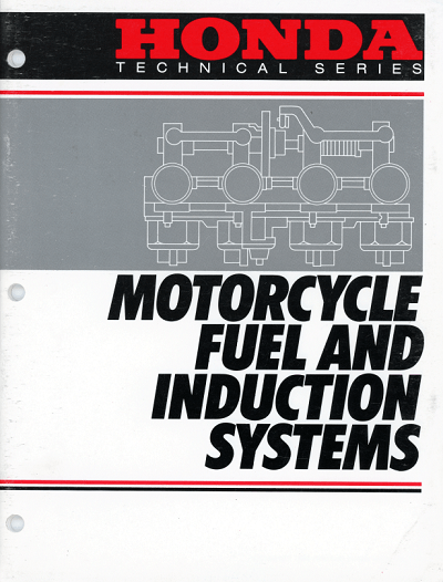 Honda Fuel Manual (1986)