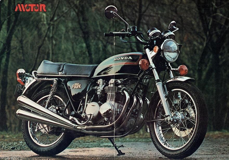 Honda CB550F Poster