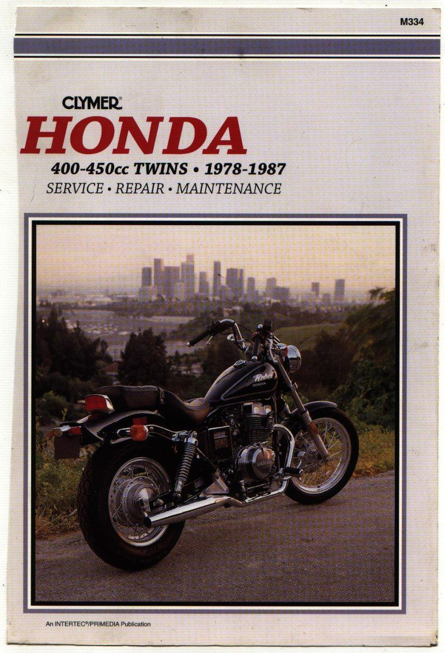 Clymer Honda 400&450 (1978-1987) Twins Workshop Manual