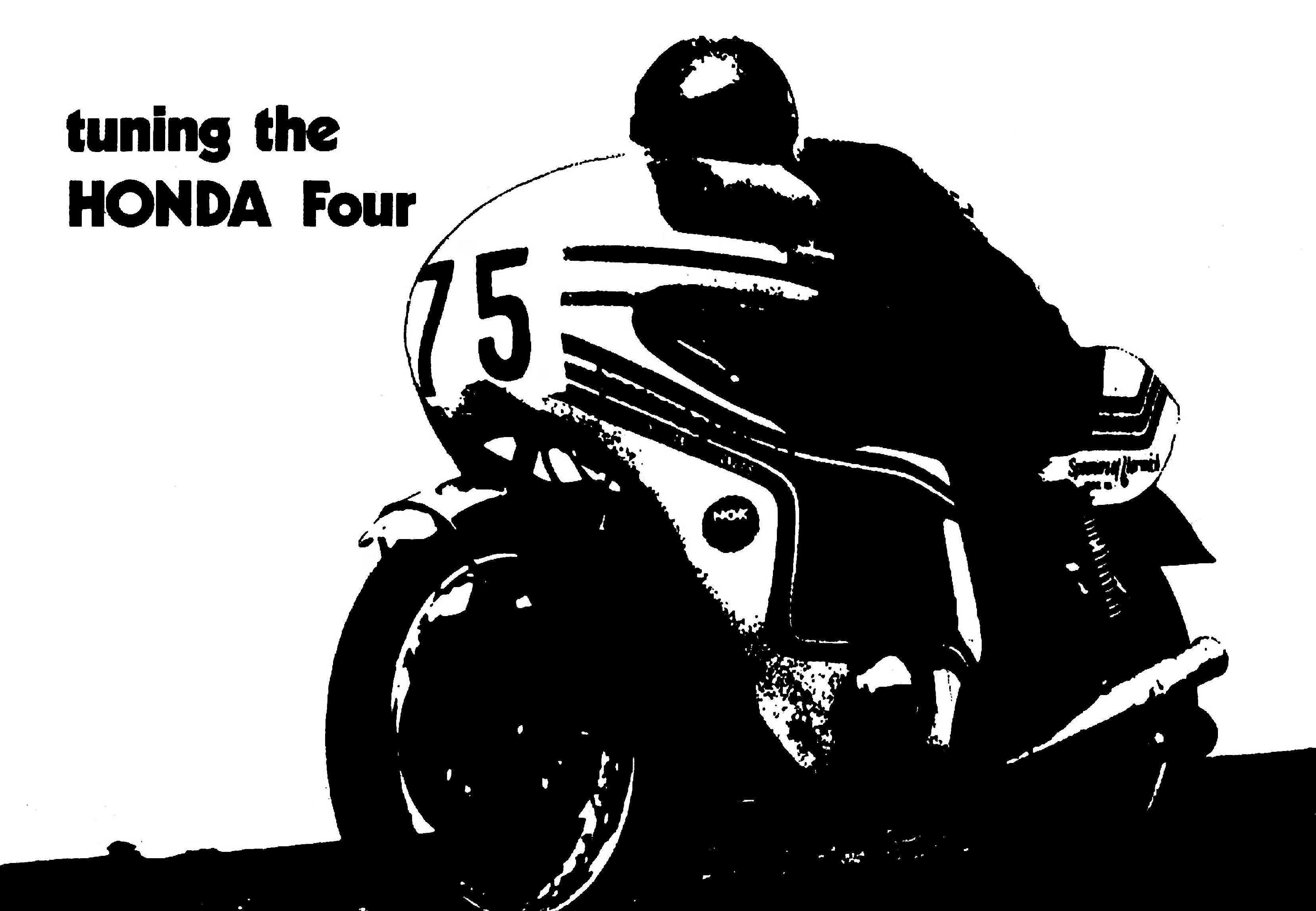 Honda Four Tuning Manual for Honda CB550F