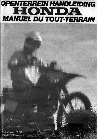 Honda Openterrein handleiding - Manuel du tout-terrain