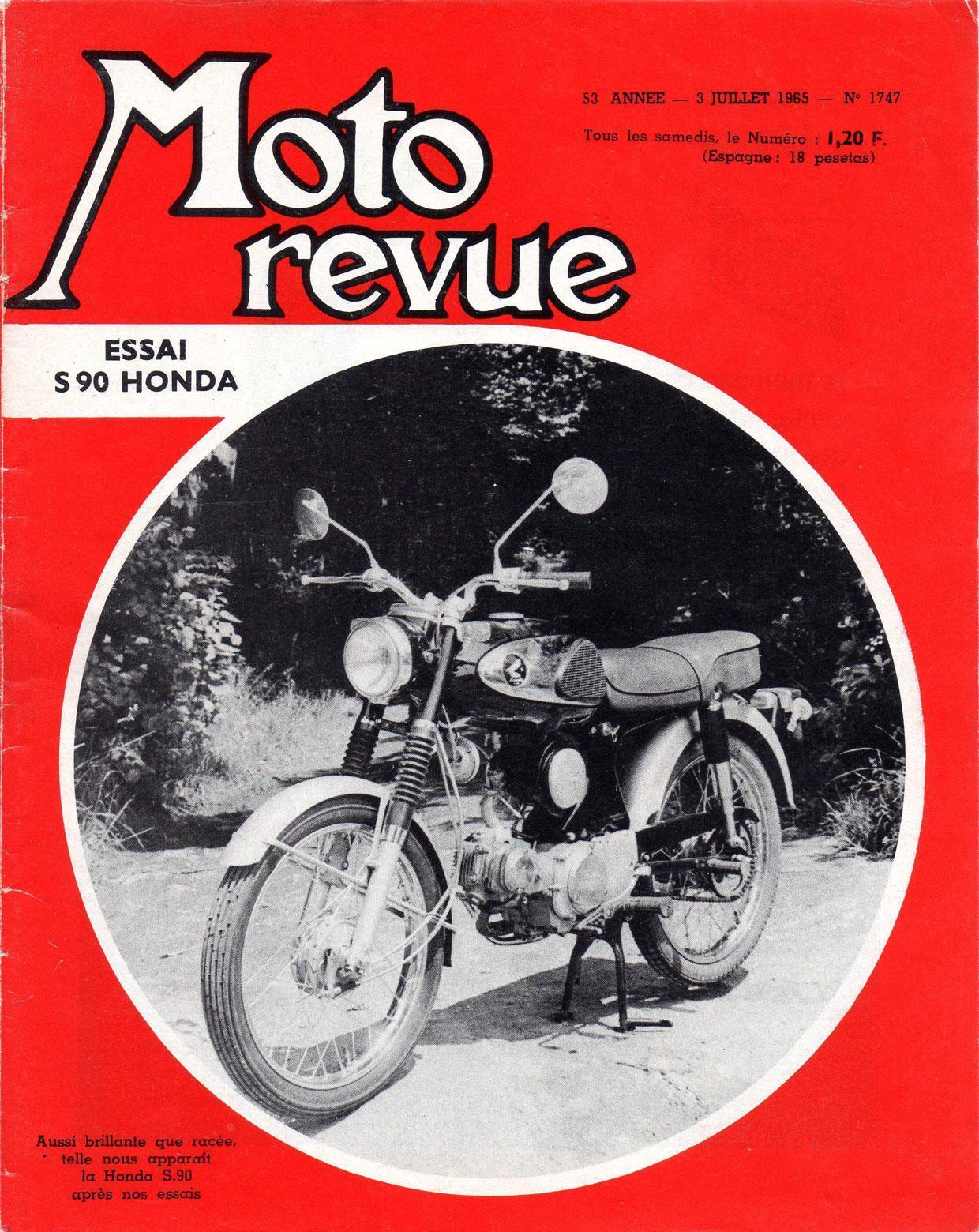 Moto Revue - 2 juilet 1965 - No. 1747