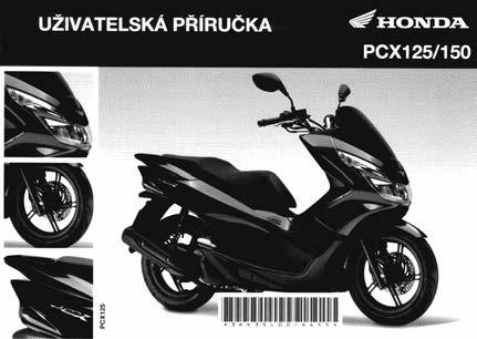 Owner's Manual PCX150 (Czech)
