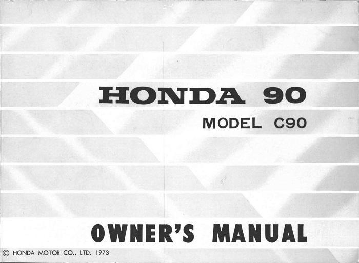 honda c90 1973 owner s manual 4 stroke net all the data for rh 4 stroke net Honda 60 Cub honda cub 90 workshop manual