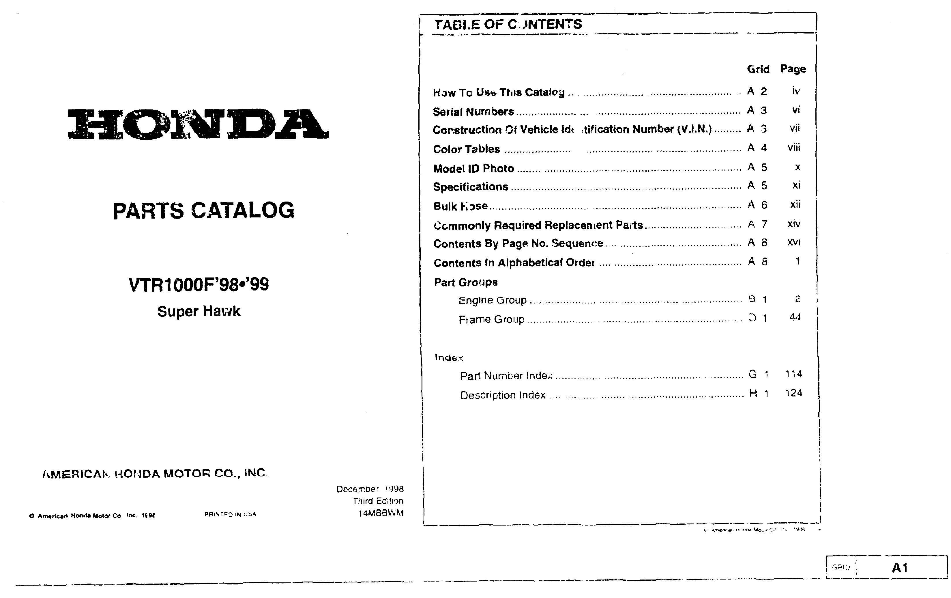 Honda Motorcycle Parts Pdf C65m Clymer Electrical Wiring Diagram List For Vtr1000f 1998 1999 4 Stroke Net All The