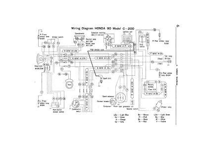 wiring schematic 4 stroke net all the data for your honda honda ct200 wiring schematic
