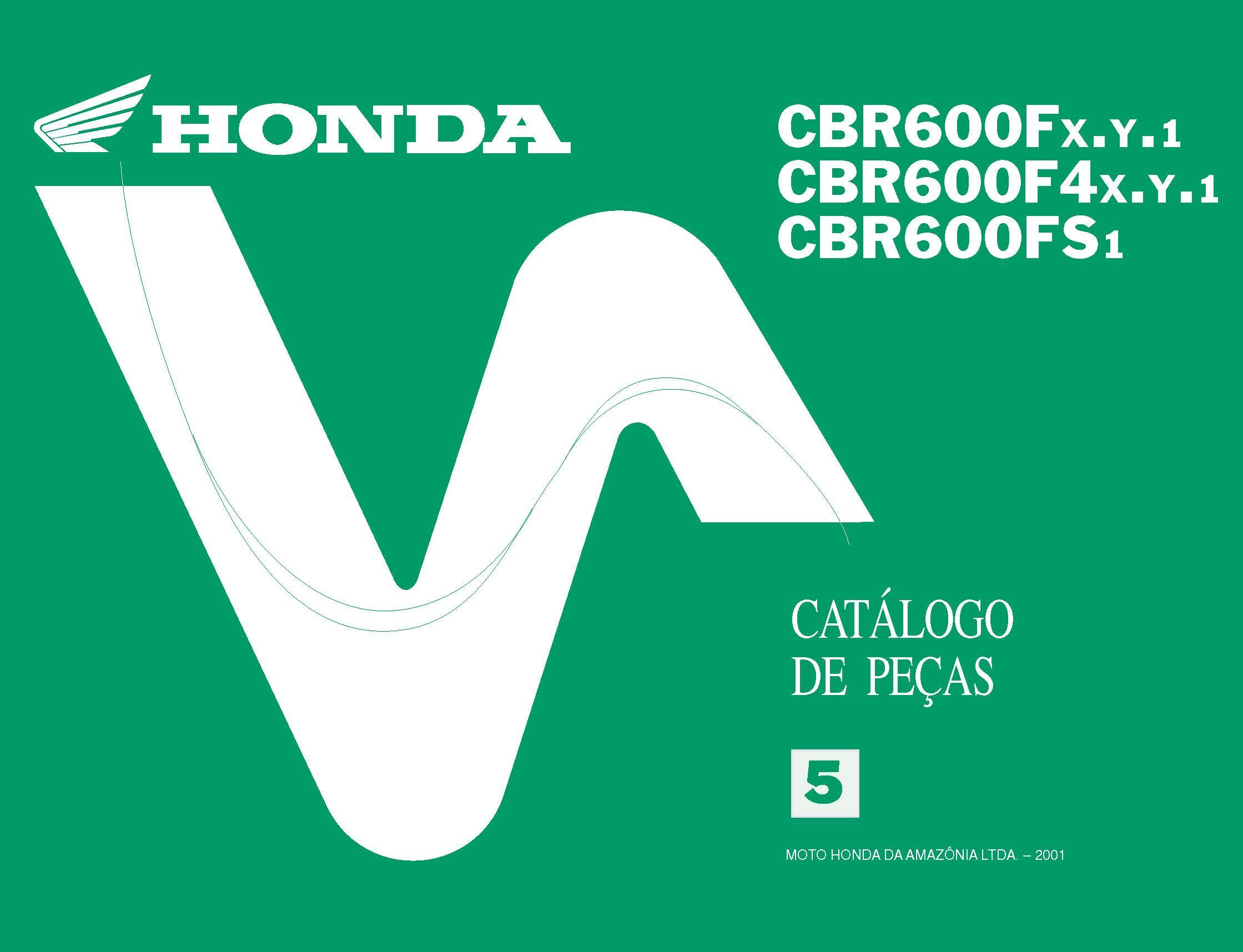 Workshop Manual for Honda CBR600F (2001) (Spanish)