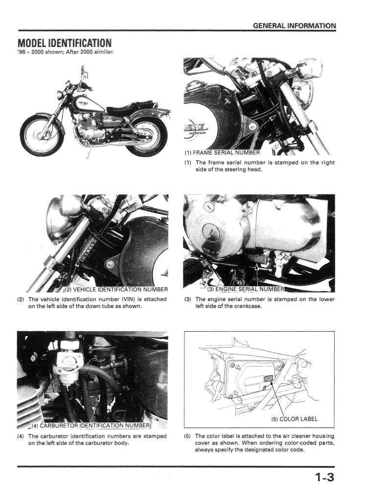 Workshop manual for Honda CMX250 Rebel (1981)